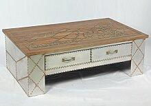 Phoenixarts Vintage Industrie Design Couchtisch