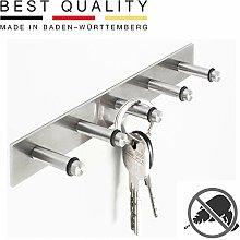 PHOS Edelstahl Design, SB5K, Schlüsselbrett mit 5