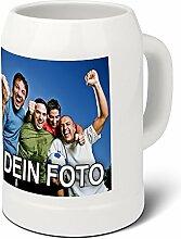 PhotoFancy® - Bierkrug mit Foto bedrucken - Krug