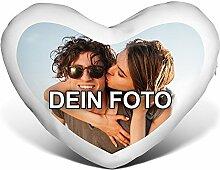 PhotoFancy® - Herzkissen mit Foto Bedrucken -