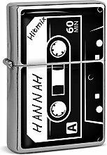 PhotoFancy® - Sturmfeuerzeug Set mit Namen Hannah