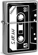 PhotoFancy® - Sturmfeuerzeug Set mit Namen Sarah