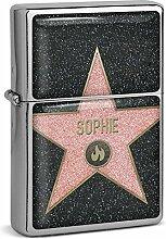 PhotoFancy® - Sturmfeuerzeug Set mit Namen Sophie