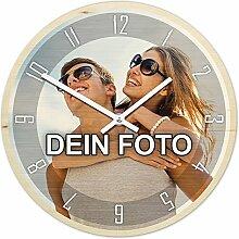 PhotoFancy® - Uhr mit Foto bedrucken - Fotouhr