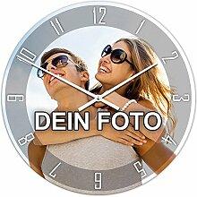 PhotoFancy® - Uhr mit Foto bedrucken - Runde