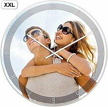 PhotoFancy® - XXL Uhr mit Foto bedrucken -