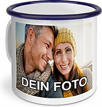 PhotoFancy – Emaille-Tasse mit Foto Bedrucken