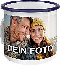 PhotoFancy – Emaille-Tasse mit Foto Bedrucken