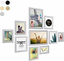 Photolini 10er Bilderrahmen-Collage Basic