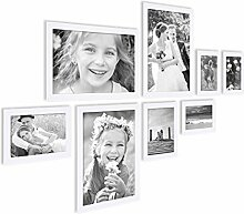 PHOTOLINI 8er Bilderrahmen-Collage Basic