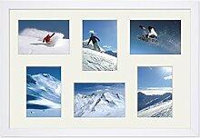 PHOTOLINI Fotocollage-Bilderrahmen 30x45 cm Modern
