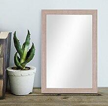 PHOTOLINI Wand-Spiegel 23x33 cm im Holzrahmen