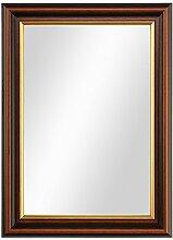 PHOTOLINI Wand-Spiegel 26x36 cm im Holzrahmen