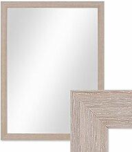 PHOTOLINI Wand-Spiegel 33x43 cm im Holzrahmen