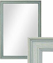 PHOTOLINI Wand-Spiegel 34x44 cm im Holzrahmen