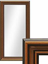 PHOTOLINI Wand-Spiegel 40x70 cm im Holzrahmen