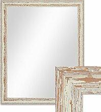 PHOTOLINI Wand-Spiegel 46x56 cm im Holzrahmen