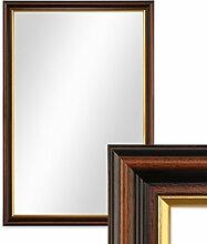 PHOTOLINI Wand-Spiegel 46x66 cm im Holzrahmen