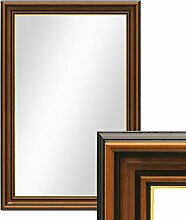 PHOTOLINI Wand-Spiegel 50x70 cm im Holzrahmen