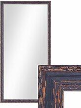 PHOTOLINI Wand-Spiegel 56x106 cm im Holzrahmen