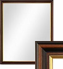 PHOTOLINI Wand-Spiegel 56x66 cm im Holzrahmen