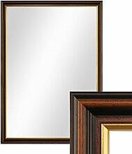 PHOTOLINI Wand-Spiegel 56x76 cm im Holzrahmen
