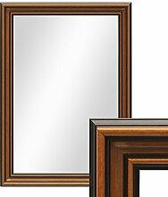 PHOTOLINI Wand-Spiegel 60x70 cm im Holzrahmen