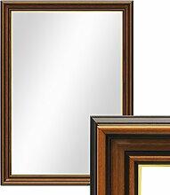 PHOTOLINI Wand-Spiegel 60x80 cm im Holzrahmen