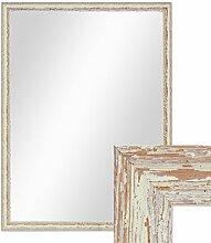 PHOTOLINI Wand-Spiegel 66x86 cm im Holzrahmen