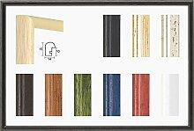 Pia Echtholz Bilderrahmen rund schmal 37 x 49 cm