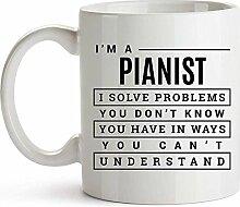 Pianist Geschenk Pianist Kaffeetasse Geschenke