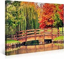 Picanova Colourful Park 100x75cm – Premium