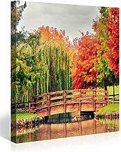 Picanova Colourful Park 80x80cm – Premium
