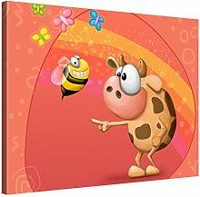 Picanova – Cow Meet Bee 40x30cm – Premium