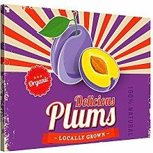 PICANOVA Delicious Plums 100x75cm – Premium