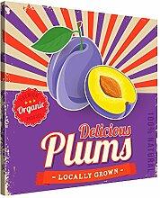 PICANOVA Delicious Plums 80x80cm – Premium