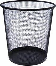 Picapoo Metallgitter Papierkorb Runde Mülleimer