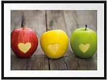 Picati Ampel Herzäpfel Bilderrahmen mit