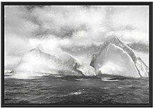 Picati Antarktis Inseln im Schattenfugen