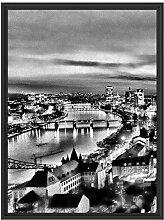 Picati Frankfurt Skyline im Schattenfugen