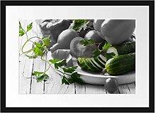 Picati Gemüseteller Bilderrahmen mit