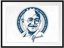 Picati Ghandi Light Bilderrahmen mit