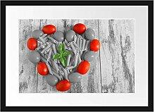 Picati Herz Pasta Bilderrahmen mit