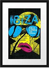 Picati Ibiza Black Bilderrahmen mit