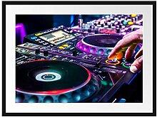 Picati Modern beleuchteter DJ Pult Bilderrahmen