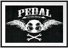 Picati Pedal Black Bilderrahmen mit