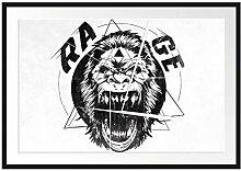 Picati Rage Light Bilderrahmen mit