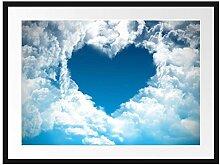 Picati Romantisches Herz in den Wolken