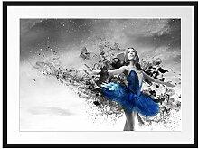 Picati schöne Ballerina Bilderrahmen mit