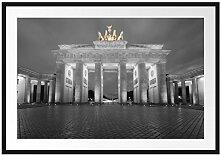 Picati schönes Brandenburger Tor Bilderrahmen mit